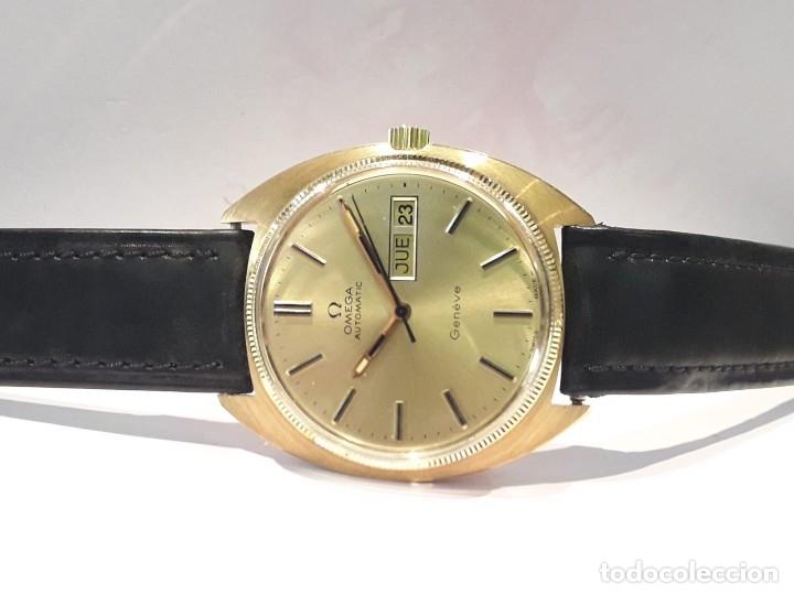 Relojes automáticos: RELOJ OMEGA VINTAGE ORO DE LEY AÑOS 70 AUTOMÁTICO CALIBRE 1012 NUEVO (N.O.S) - Foto 3 - 178444613