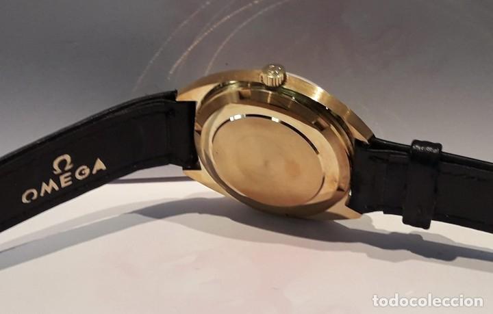 Relojes automáticos: RELOJ OMEGA VINTAGE ORO DE LEY AÑOS 70 AUTOMÁTICO CALIBRE 1012 NUEVO (N.O.S) - Foto 4 - 178444613