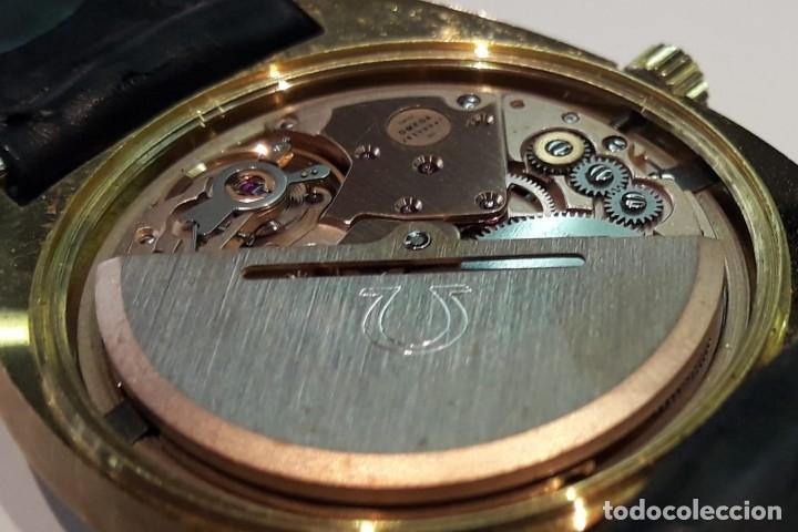 Relojes automáticos: RELOJ OMEGA VINTAGE ORO DE LEY AÑOS 70 AUTOMÁTICO CALIBRE 1012 NUEVO (N.O.S) - Foto 5 - 178444613