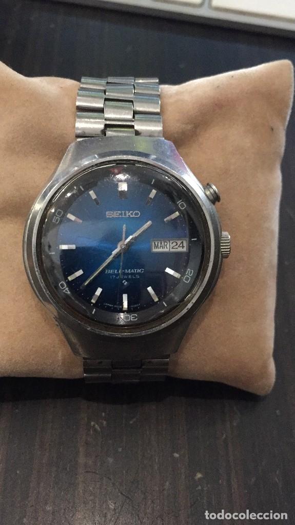 VINTAGE RELOJ DE PULSERA AUTOMATICO SEIKO MODELO BELLMATIC MODELO 4006-6060 AÑOS 70 (Relojes - Relojes Automáticos)