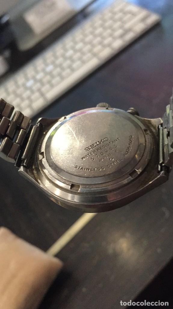 Relojes automáticos: VINTAGE RELOJ DE PULSERA AUTOMATICO SEIKO MODELO BELLMATIC MODELO 4006-6060 AÑOS 70 - Foto 4 - 178583795