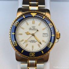 Relojes automáticos: RELOJ VINTAGE - SIN USAR - QUARTZ - 100 METERS - ACERO INOXIDABLE. Lote 178759915