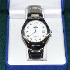 Relojes automáticos: RELOJ VINTAGE - SIN USAR - QUARTZ - 3 ATM - ACERO INOXIDABLE. Lote 178762126