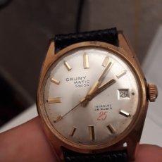 Relojes automáticos: RELOJ DE PULSERA AUTOMATICO CAUNY MATIC 25 RUBIS, FUNCIONA. Lote 146298630