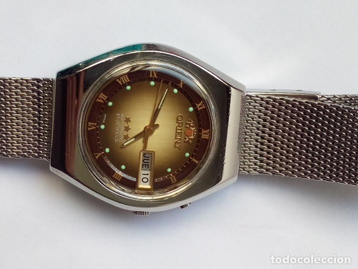Relojes automáticos: RELOJ AUTOMATICO ORIENT FUNCIONANDO - Foto 2 - 178885863