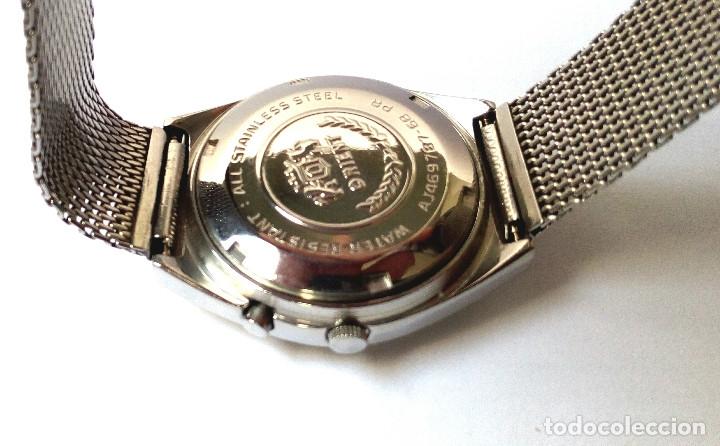 Relojes automáticos: RELOJ AUTOMATICO ORIENT FUNCIONANDO - Foto 5 - 178885863