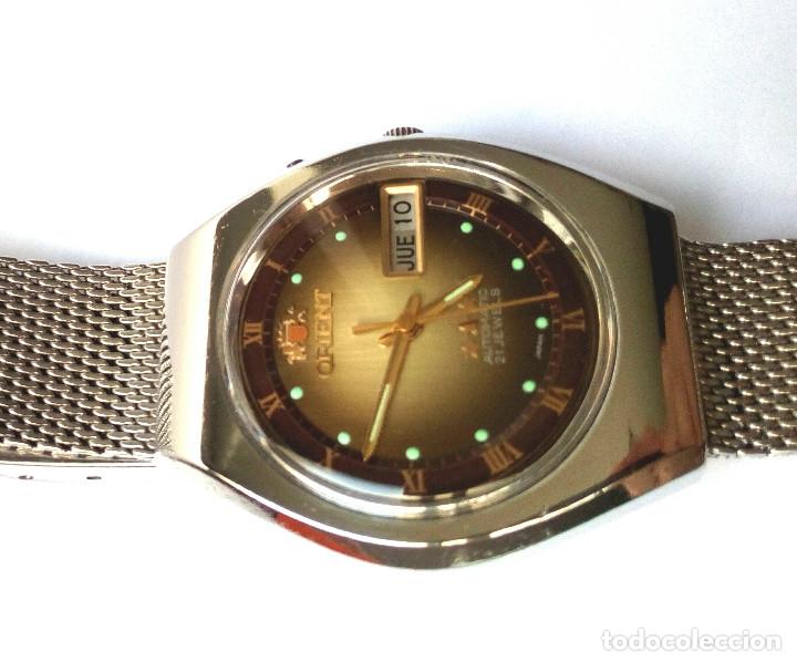 Relojes automáticos: RELOJ AUTOMATICO ORIENT FUNCIONANDO - Foto 7 - 178885863