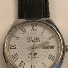 Relojes automáticos: CITIZEN AUTOMATICO COMO NUEVO GRANDE. Lote 178950151
