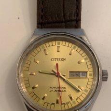 Relojes automáticos: CITIZEN AUTOMATICO COMO NUEVO DE COLECCION. Lote 178950376