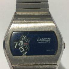 Relojes automáticos: RELOJ EXACTUS AUTOMÁTICO DIGITAL NUMÉRICO MUY RARO PARA COLECCIONISTAS UNICO. Lote 178962510