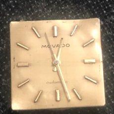 Relojes automáticos: MAQUINARIA RELOJ MOVADO AUTOMÁTICO FUNCIONA PERFECTAMENTE. Lote 179120255