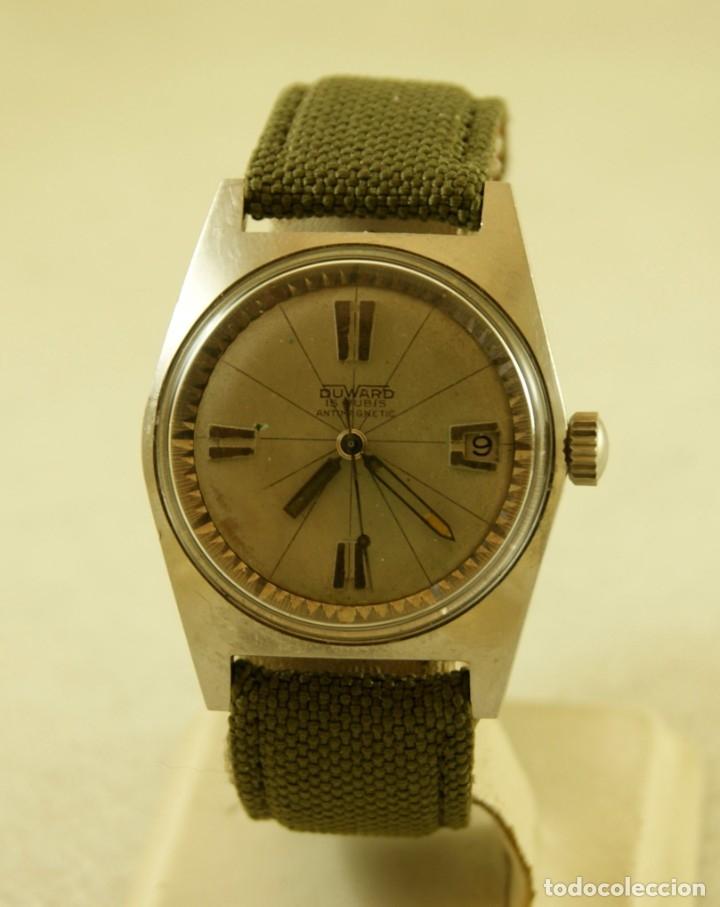 Relojes automáticos: DUWARD AQUASTAR GRAND AIR AUTOMATICO FUNCIONANDO - Foto 3 - 179174287