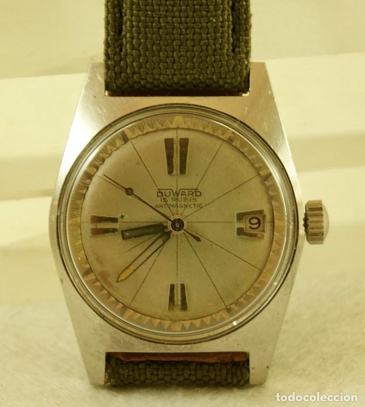 Relojes automáticos: DUWARD AQUASTAR GRAND AIR AUTOMATICO FUNCIONANDO - Foto 7 - 179174287