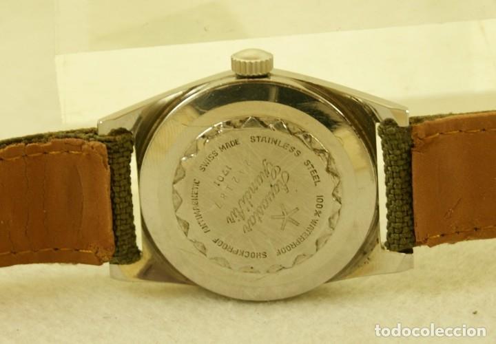 Relojes automáticos: DUWARD AQUASTAR GRAND AIR AUTOMATICO FUNCIONANDO - Foto 9 - 179174287