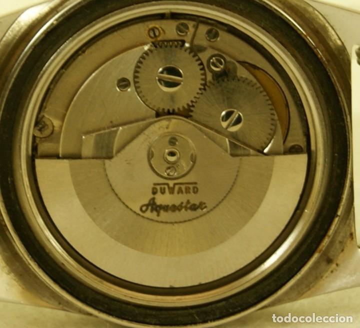 Relojes automáticos: DUWARD AQUASTAR GRAND AIR AUTOMATICO FUNCIONANDO - Foto 11 - 179174287