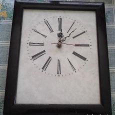 Relojes automáticos: RELOJ SOBRE PORCELANA CROWN MIDE 29/24/3 CM . Lote 179203925