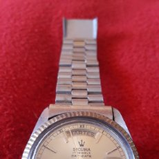 Relojes automáticos: RELOJ SUIZO MARCA SICURA. Lote 179251333