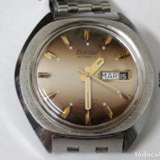 Relojes automáticos: RELOJ EXACTUS PULSERA CABALLERO. 25 JEWELS CALENDARIO DOBLE. PERFECTO FUNCIONAMIENTO SETENTERO. Lote 53181340