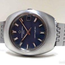 Relojes automáticos: INCREÍBLE RELOJ VINTAGE ETERNA MATIC 1000 CONCEPT 80 DE 1969 AUTOMÁTICO DE ACERO Y NUEVO (NOS). Lote 180118512