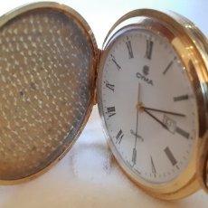 Relojes automáticos: RELOJ DE BOLSILLO MARCA CYMA DEL AÑO 1990.. Lote 180179323