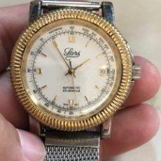 Relojes automáticos: RELOJ LARS GOLD-SILVER AUTOMATIC. Lote 180239802