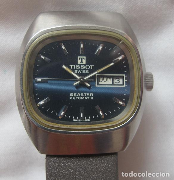 RELOJ TISSOT AUTOMATICO SEASTAR AZUL (Relojes - Relojes Automáticos)