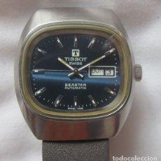 Relojes automáticos: RELOJ TISSOT AUTOMATICO SEASTAR AZUL. Lote 180247626