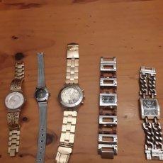 Relojes automáticos: RELOJES. LOTE DE 5 RELOJES. Lote 180267878