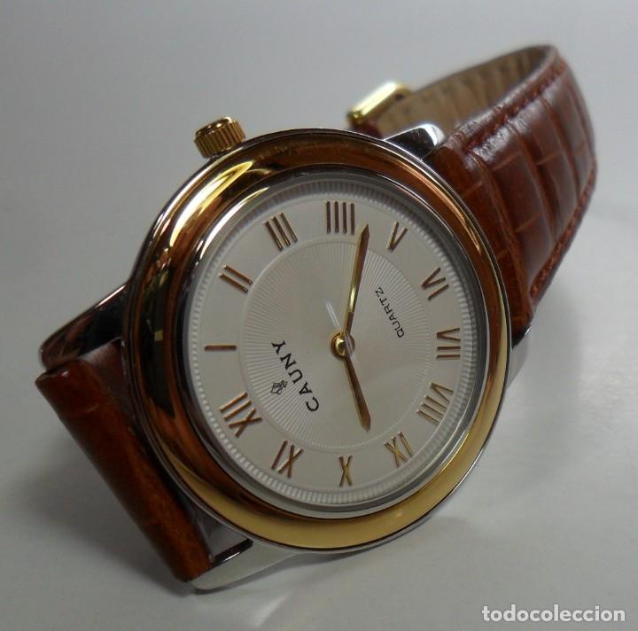 Relojes automáticos: Reloj suizo de pulsera CAUNY unisex de cuarzo 3 ATM - Foto 2 - 180280303