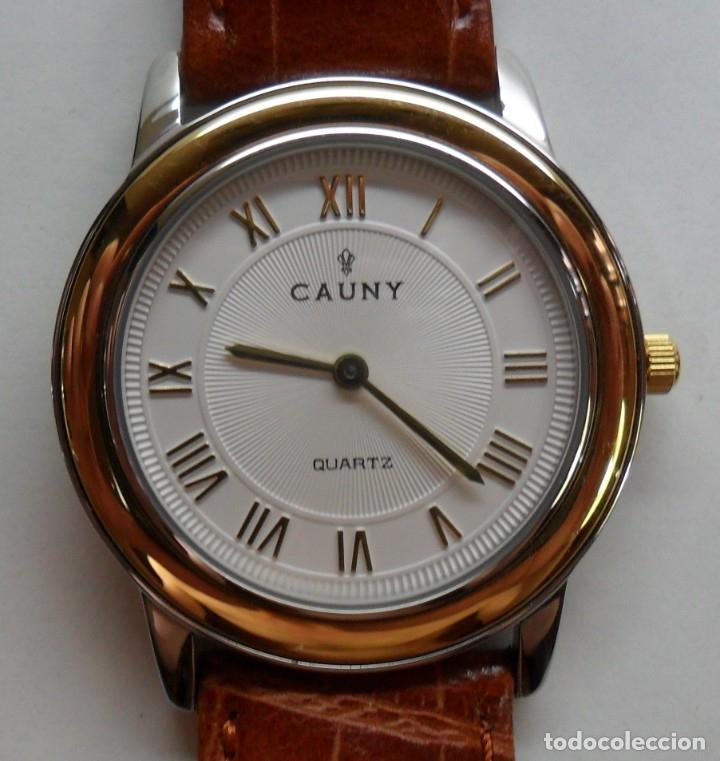 Relojes automáticos: Reloj suizo de pulsera CAUNY unisex de cuarzo 3 ATM - Foto 3 - 180280303