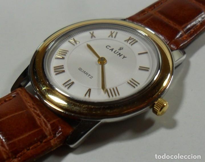 Relojes automáticos: Reloj suizo de pulsera CAUNY unisex de cuarzo 3 ATM - Foto 4 - 180280303