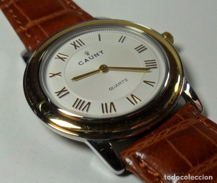 Relojes automáticos: Reloj suizo de pulsera CAUNY unisex de cuarzo 3 ATM - Foto 5 - 180280303