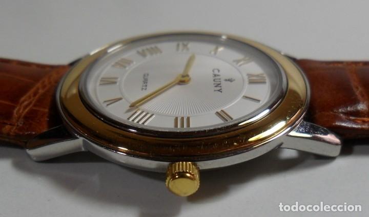 Relojes automáticos: Reloj suizo de pulsera CAUNY unisex de cuarzo 3 ATM - Foto 6 - 180280303