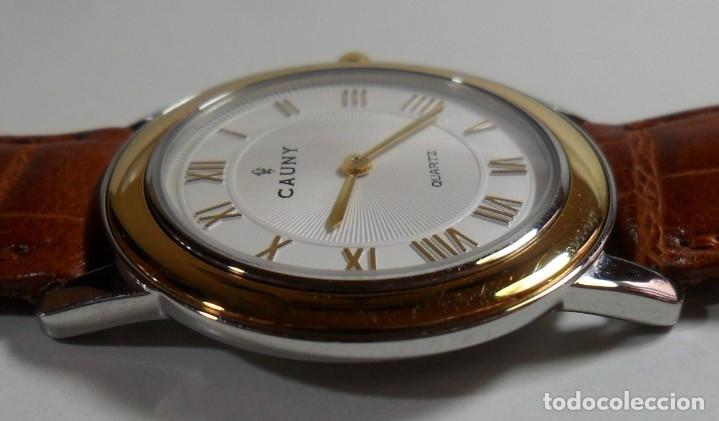 Relojes automáticos: Reloj suizo de pulsera CAUNY unisex de cuarzo 3 ATM - Foto 7 - 180280303