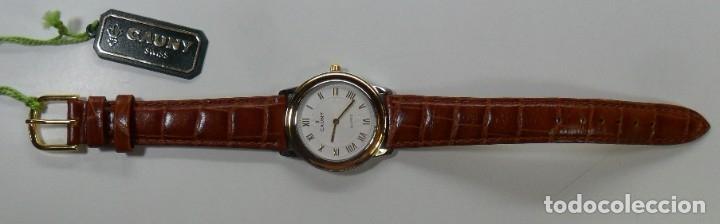 Relojes automáticos: Reloj suizo de pulsera CAUNY unisex de cuarzo 3 ATM - Foto 9 - 180280303