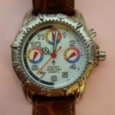 Relojes automáticos: RELOJ DE PULSERA CAUNY 50 METERS QUARTZ PARA SEÑORA ** CON SU ESTUCHE. Lote 180282945