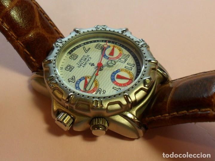 Relojes automáticos: Reloj de pulsera CAUNY 50 METERS QUARTZ para señora ** Con su estuche - Foto 6 - 180282945