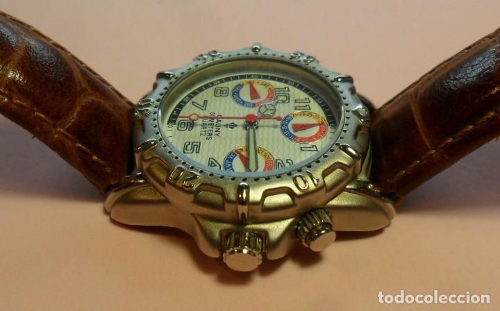 Relojes automáticos: Reloj de pulsera CAUNY 50 METERS QUARTZ para señora ** Con su estuche - Foto 8 - 180282945