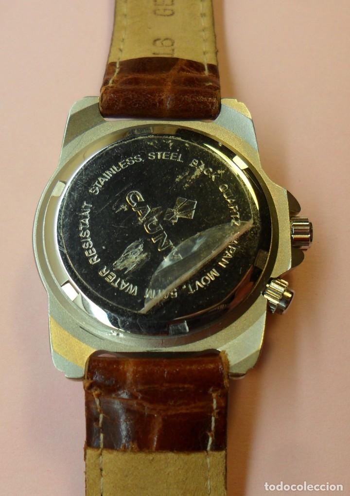 Relojes automáticos: Reloj de pulsera CAUNY 50 METERS QUARTZ para señora ** Con su estuche - Foto 10 - 180282945