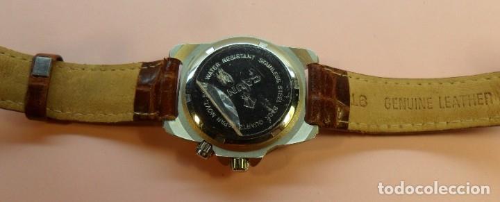 Relojes automáticos: Reloj de pulsera CAUNY 50 METERS QUARTZ para señora ** Con su estuche - Foto 11 - 180282945