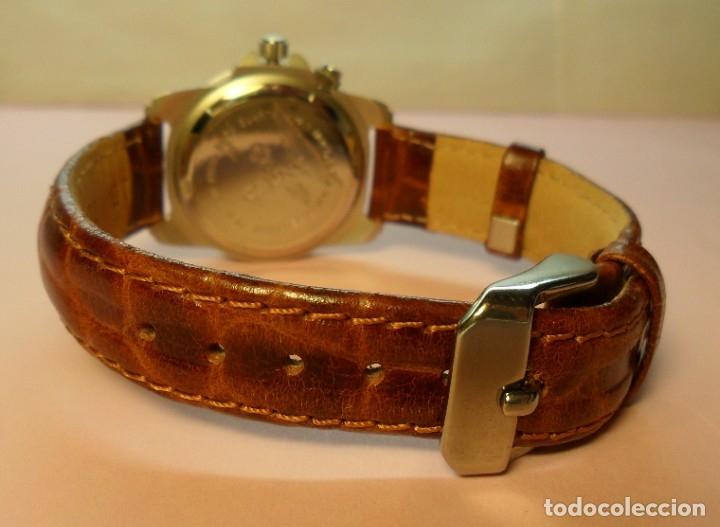 Relojes automáticos: Reloj de pulsera CAUNY 50 METERS QUARTZ para señora ** Con su estuche - Foto 12 - 180282945