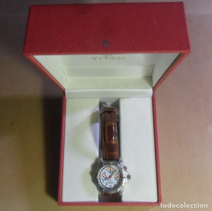 Relojes automáticos: Reloj de pulsera CAUNY 50 METERS QUARTZ para señora ** Con su estuche - Foto 13 - 180282945