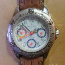 Relojes automáticos: RELOJ DE PULSERA CAUNY - 5 ATM QUARTZ PARA SEÑORA. Lote 180330970