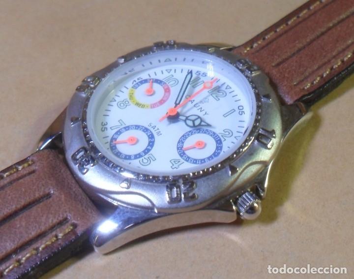 Relojes automáticos: Reloj de pulsera CAUNY - 5 ATM QUARTZ para señora - Foto 2 - 180330970