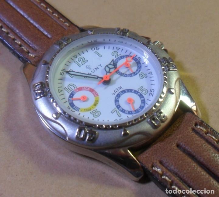 Relojes automáticos: Reloj de pulsera CAUNY - 5 ATM QUARTZ para señora - Foto 3 - 180330970