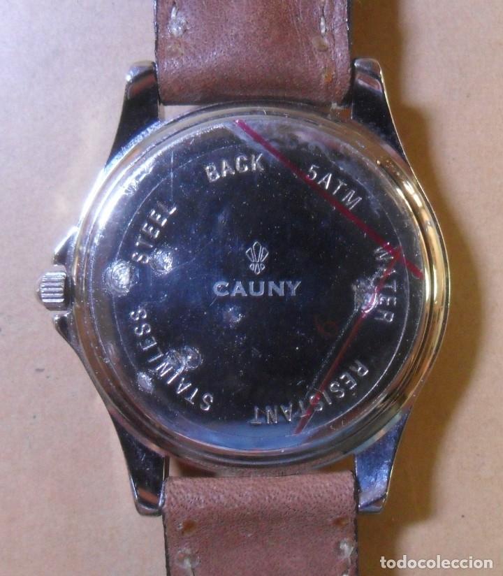 Relojes automáticos: Reloj de pulsera CAUNY - 5 ATM QUARTZ para señora - Foto 7 - 180330970