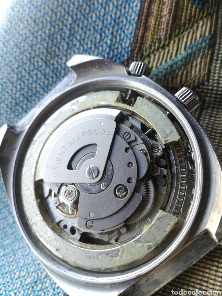 Relojes automáticos: Reloj Orient vintage Calendadario perpetuo Para reparar - Foto 12 - 176670382