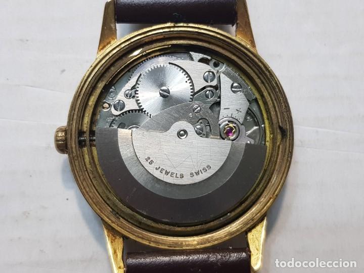 Relojes automáticos: Reloj antiguo Laken 25 jewels caballero funcionando - Foto 2 - 180391423