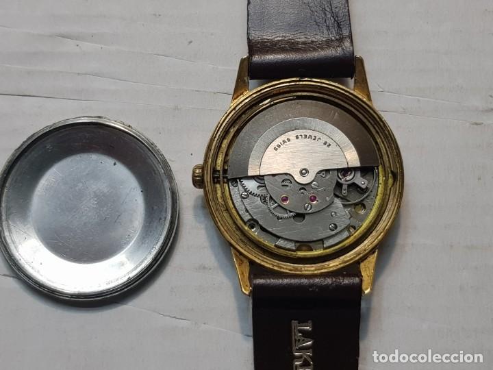 Relojes automáticos: Reloj antiguo Laken 25 jewels caballero funcionando - Foto 3 - 180391423