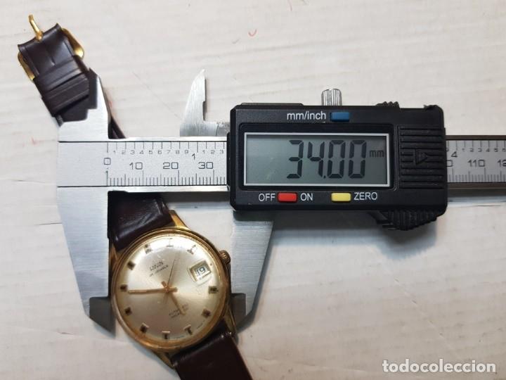 Relojes automáticos: Reloj antiguo Laken 25 jewels caballero funcionando - Foto 5 - 180391423